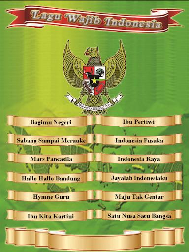 Lagu Wajib Indonesia ss 1