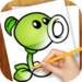 Learn to Draw Zombies Vs Plant APK