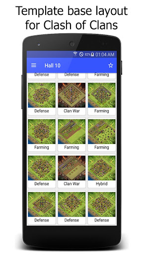 Maps for Clash of Clans War ss 1