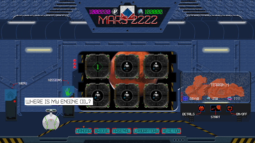 Mars 2222 tactical strategy Tower Defence ss 1