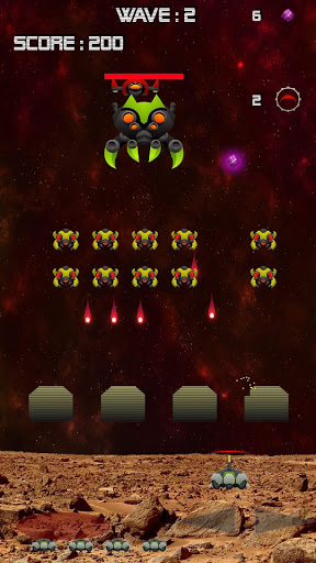 Mars Invaders – Retro space shooter ss 1