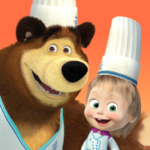 Masha and the Bear Child Games: Cooking Adventure APK