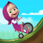 Masha and the Bear: Climb Racing and Car Games APK