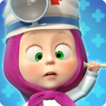 Masha and the Bear: Free Animal Games for Kids APK