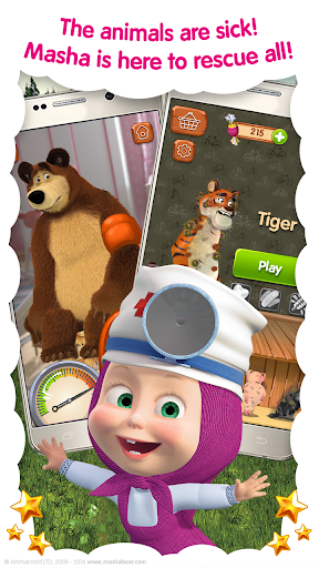 Masha and the Bear Free Animal Games for Kids ss 1