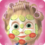 Masha and the Bear: Hair Salon and MakeUp Games APK