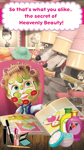 Masha and the Bear Hair Salon and MakeUp Games ss 1