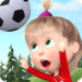 Masha and the Bear: Kids Football Games Cup 2018 APK