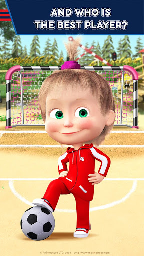 Masha and the Bear Kids Football Games Cup 2018 ss 1