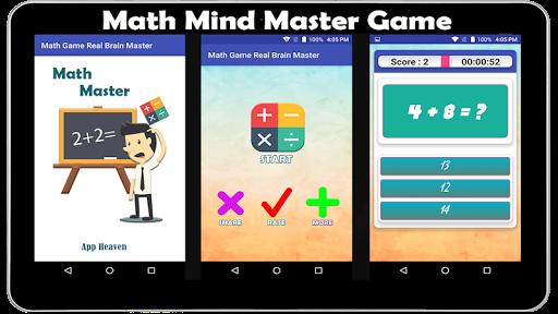 Math Game Real Brain Master ss 1