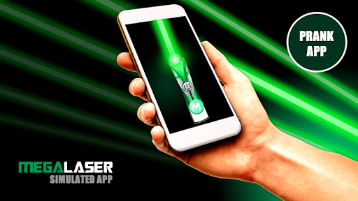 Mega Laser simulated laser pointer PRANK APP ss 1