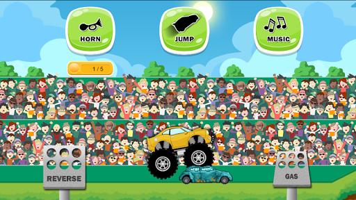 Monster Truck Game for Kids ss 1