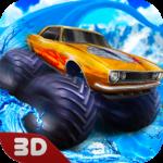 Monster Truck Water Slide Driving Simulator APK