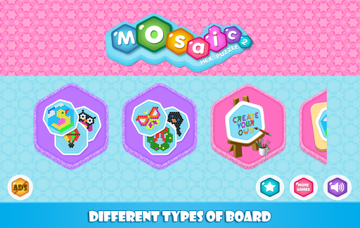 Mosaic Hex Puzzle 2 Hexagon Photo Match ss 1
