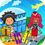 My Pretend Airport – Kids Travel Town FREE APK