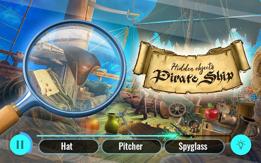 Pirate Ship Hidden Objects Treasure Island Escape ss 1