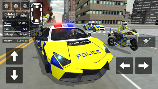 Police Car Driving – Motorbike Riding ss 1