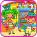 Pretend Preschool – Kids School Learning Games APK