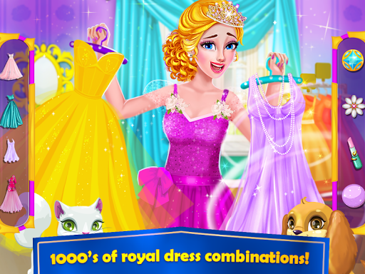 Royal Princess Makeover and Dress up Game ss 1