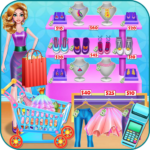 Shopping mall & dress up game APK