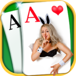 Solitaire – Beautiful Girl Themes, Funny Card Game APK
