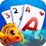 Solitaire TriPeaks – Fish Rescue APK