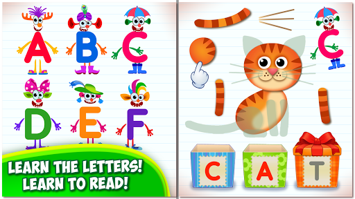 Super ABC Learning games for kids Preschool apps ss 1