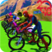 Superhero Bmx Stunt Racing APK