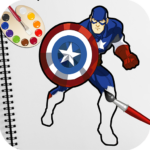 Superhero Coloring Book Pages: Best Coloring Games APK