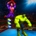 Superhero Wrestling Battle Arena Ring Fighting APK