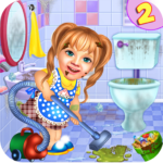 Sweet Baby Girl Cleaning Games: House Cleanup 2018 APK