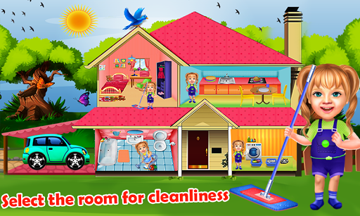 Sweet Baby Girl Cleaning Games House Cleanup 2018 ss 1