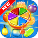 Sweet Fruit Candy – Juice Fruit Land – Jam Match 3 APK