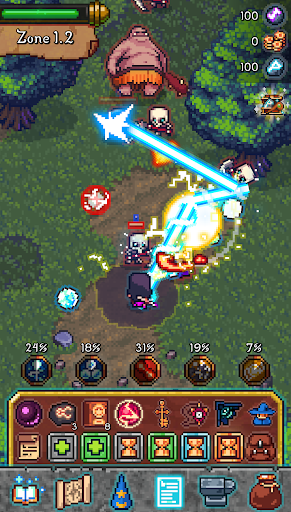 Tap Wizard RPG Arcane Quest ss 1