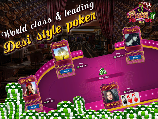 Teen Patti Tycoon Gold Indian Poker ss 1