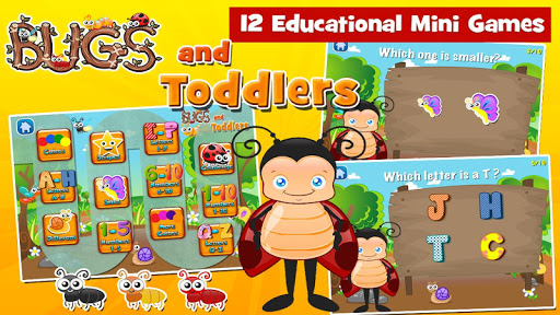Toddler Games Age 2 Bugs ss 1