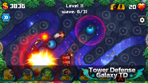 Tower Defense Galaxy TD ss 1