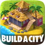 Town Building Games: Tropic Town Island City Sim APK