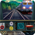 Train driving simulator APK