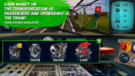 Train driving simulator ss 1