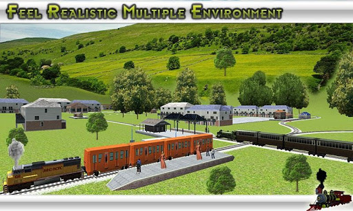 Train simulator Free 3D Train Game ss 1