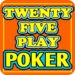 Twenty-Five Play Poker APK