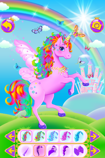 Unicorn Dress Up – Girls Games ss 1