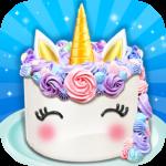 Unicorn Food – Sweet Rainbow Cake Desserts Bakery APK