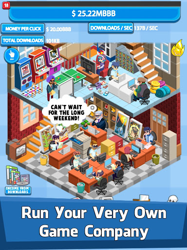 Video Game Tycoon – Idle Clicker amp Tap Inc Game ss 1