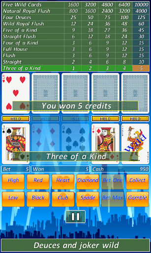 Video Poker Slot Machine. ss 1