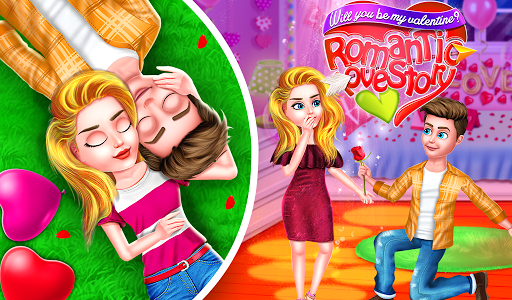 Will you be my valentine Romantic Love Story ss 1