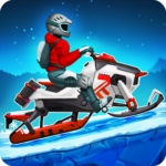 Winter Sports Game: Risky Road Snowmobile Race APK