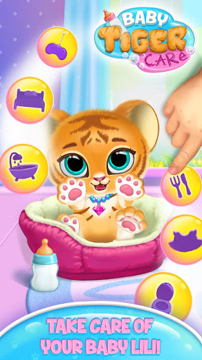 Baby Tiger Care – My Cute Virtual Pet Friend ss 1
