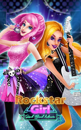 Rockstar Girl High School Rock Band Mania ss 1